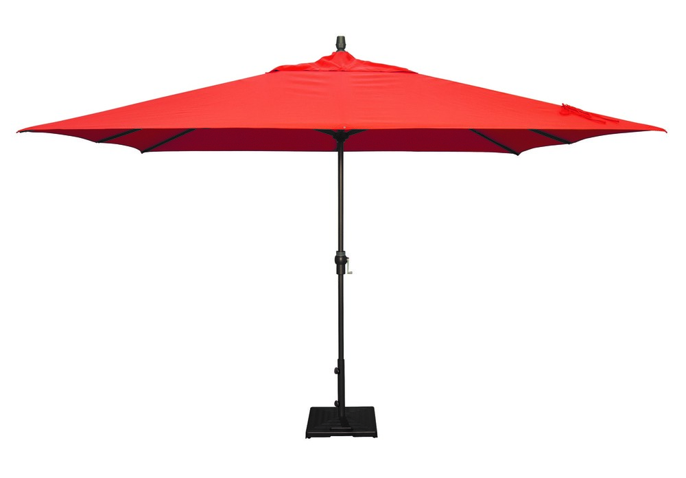 RECTANGULAR NO TILT MARKET UMBRELLA