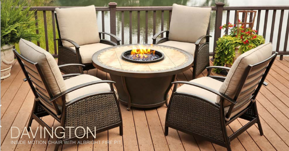 FIRE PITS & FIRE PIT SEATING