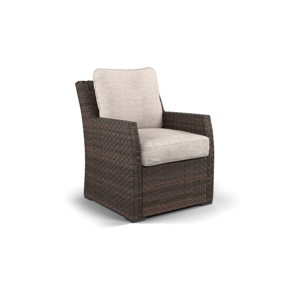 Salceda Woven Club Chair