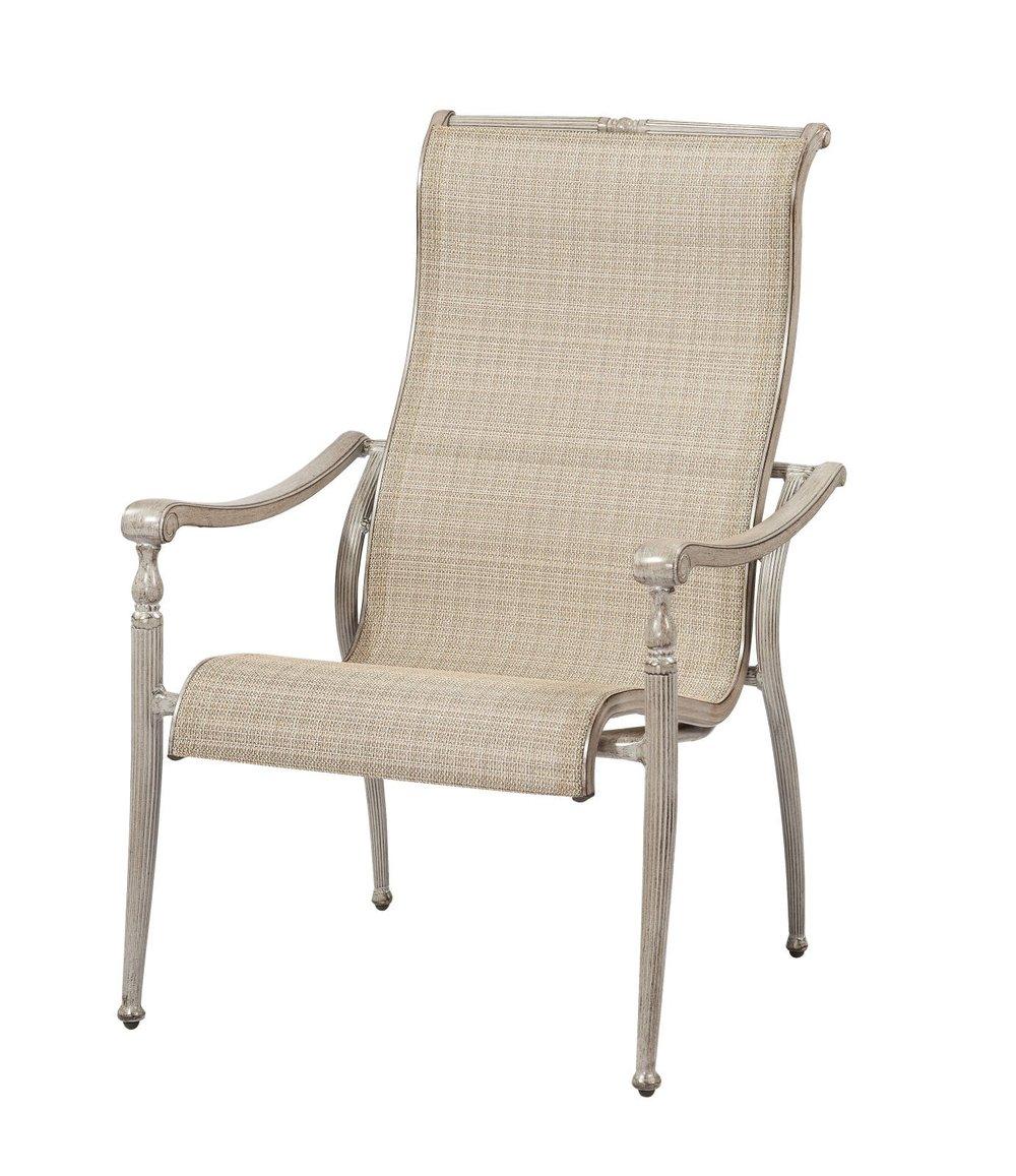 Sydney Cast Sling Dining Chair