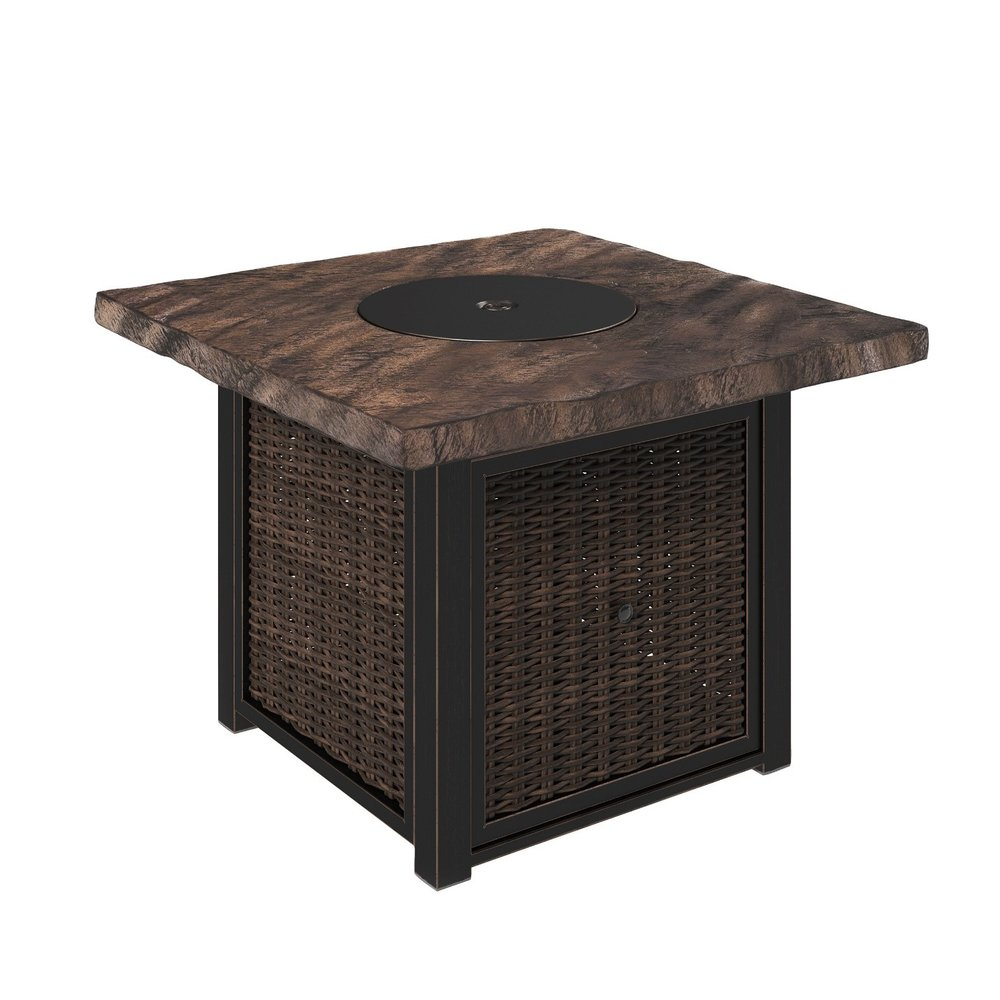 Alta Grand Gas Fire Pit Table