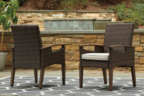 PARADISE TRAIL ARM DINING CHAIRS