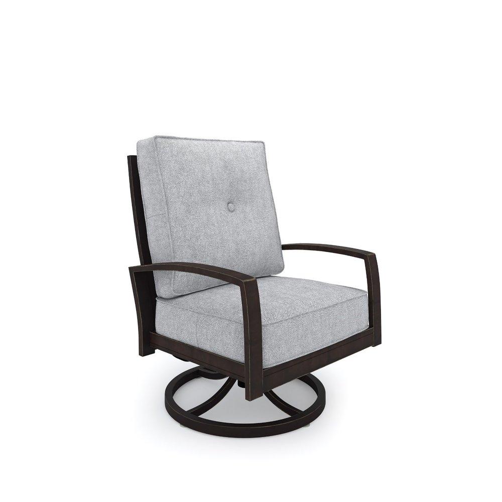 Castle Island Swivel Club Chair