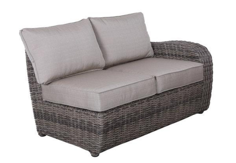 Brunswick Left Arm Loveseat for Sectional