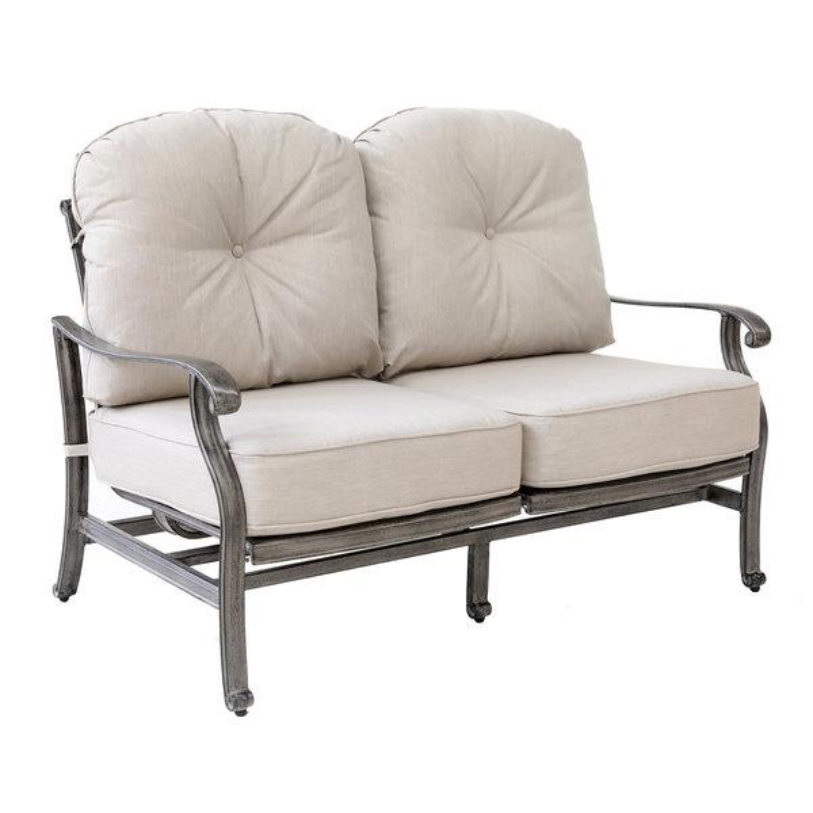 Macan Cast Deep Seating Loveseat