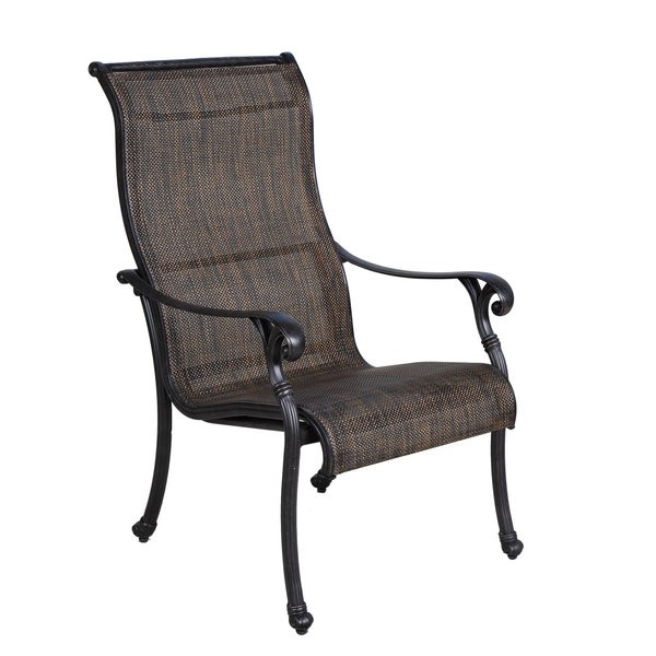 Castle Rock Cast Sling Dining Chair
