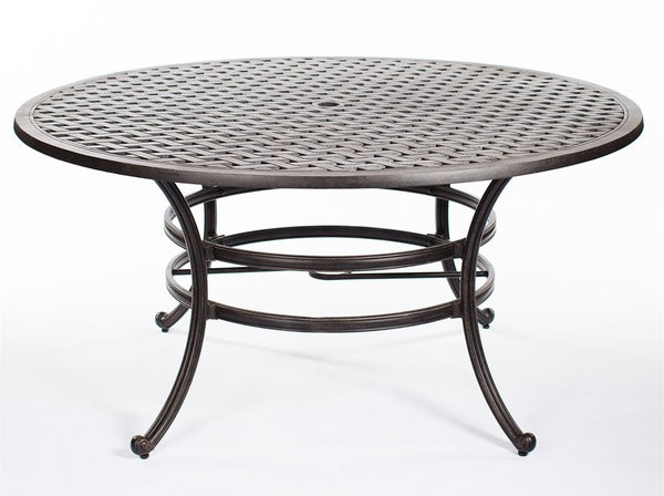 "Castle Rock Cast Dining Table 52"" Round"