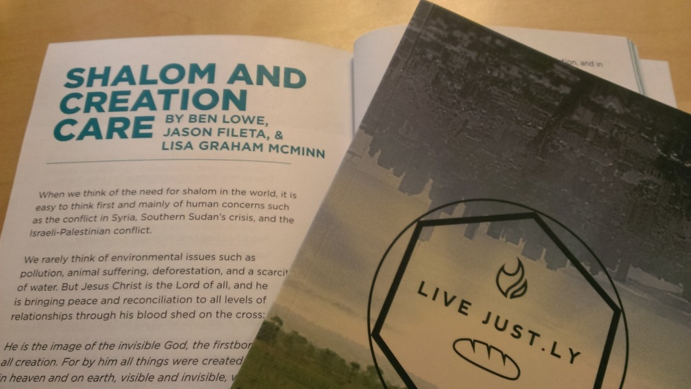 LIVE JUST.LY: Edited by Jason Fileta and published by Micah Challenge USA