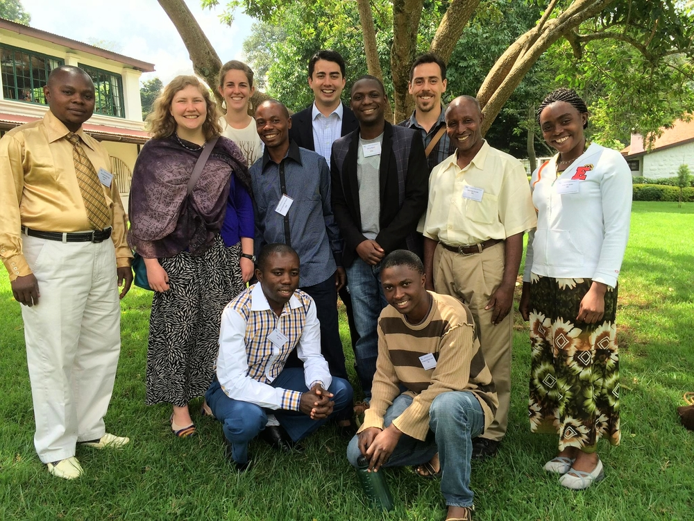 The UCBC-YECA Team at Lausanne's Creation Care Consultation in Kenya
