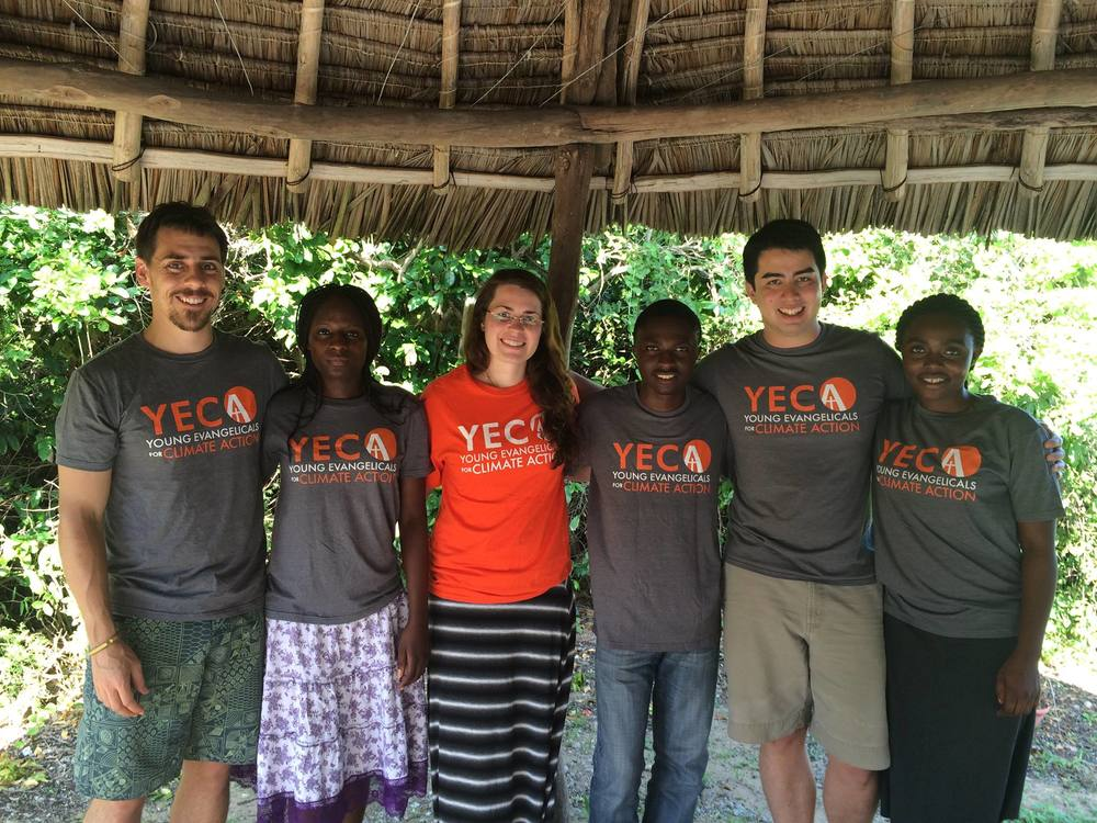 Our YECA team - Jolie, Faden, and Diane from the UCBC Fellows and Rachel, Andrew, and I from the Steering Committee