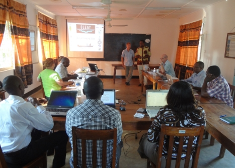 CLEAT team meetings at TAFIRI-Kigoma