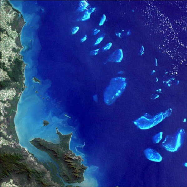 Photo Credit: By NASA Goddard Space Flight Center - NASA Goddard Space Flight Center's, NASA Visible Earth: Great Barrier Reef (IotD ID 11269), Public Domain, https://commons.wikimedia.org/w/index.php?curid=1806532