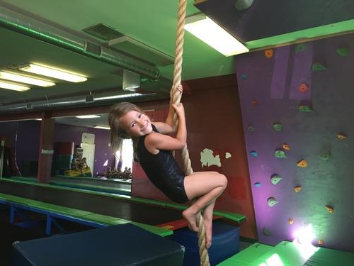 Tati swinging for play