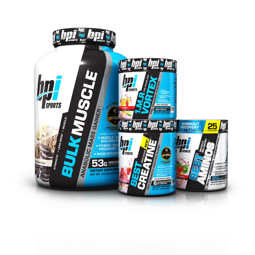 Get a 30 day supply of Protein Powder, BCAA's, Creatine, & Energy Boost -
