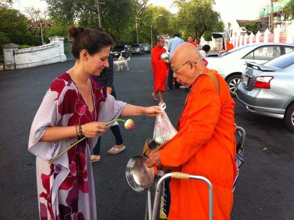 Pravassa Founder, Linden Schaffer in Thailand