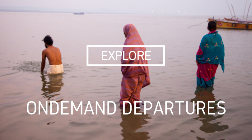 ONDEMAND:  book-now journeys that are ready for the time-starved traveler who has their passport in hand.