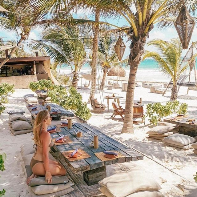 #2019goal Take a vacation that has nothing to do with work. Is this possible when you work in the travel industry? 🤔⁣⠀ ⁣⠀ 📷 @nomadetulum⁣⠀ ⁣⠀