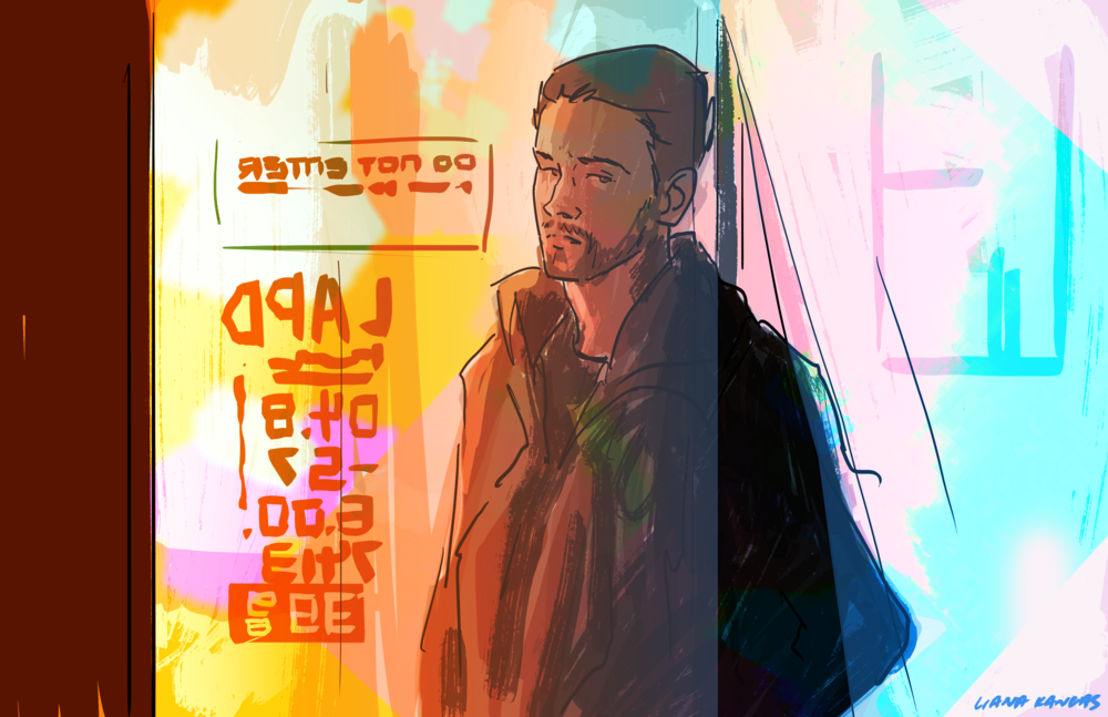 Blade Runner 2049 Illustration