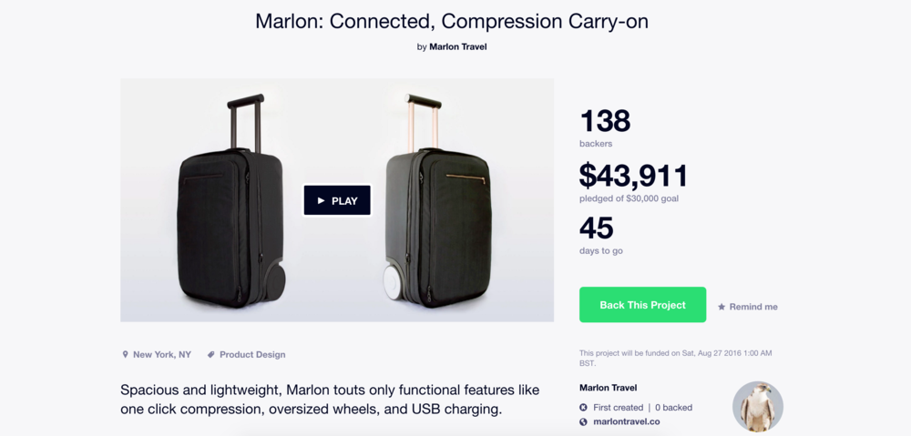 Marlon Kickstarter