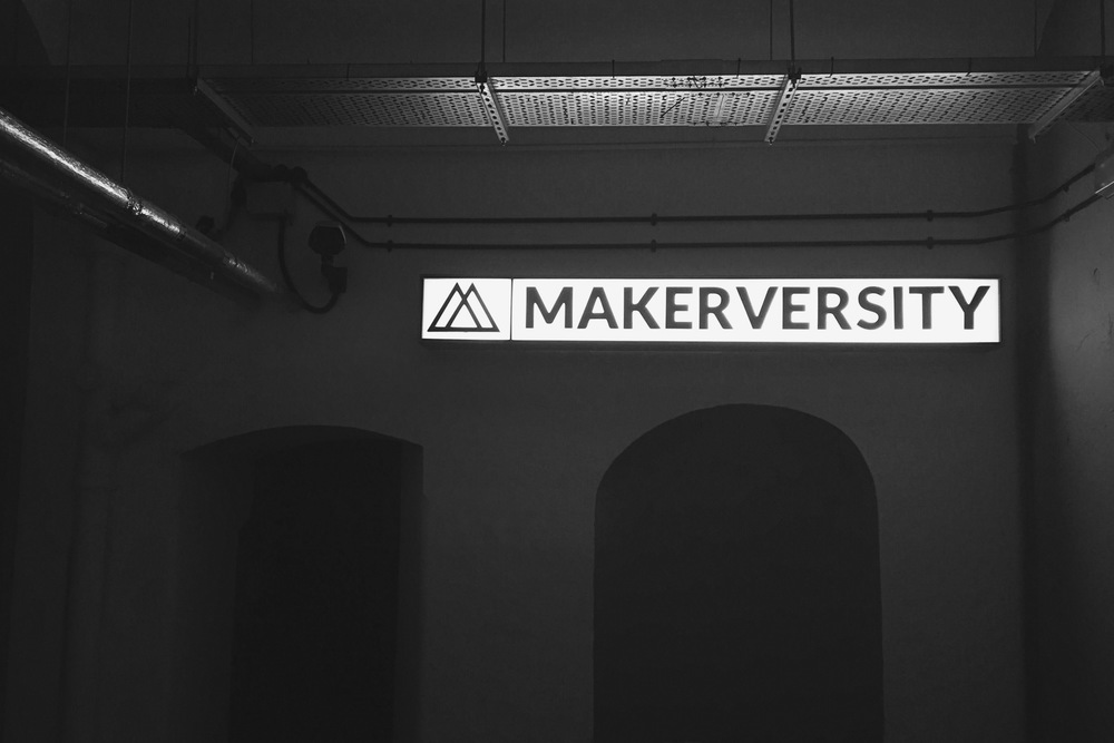 Our Makerversity office; late nights are made much easier by the great community here.