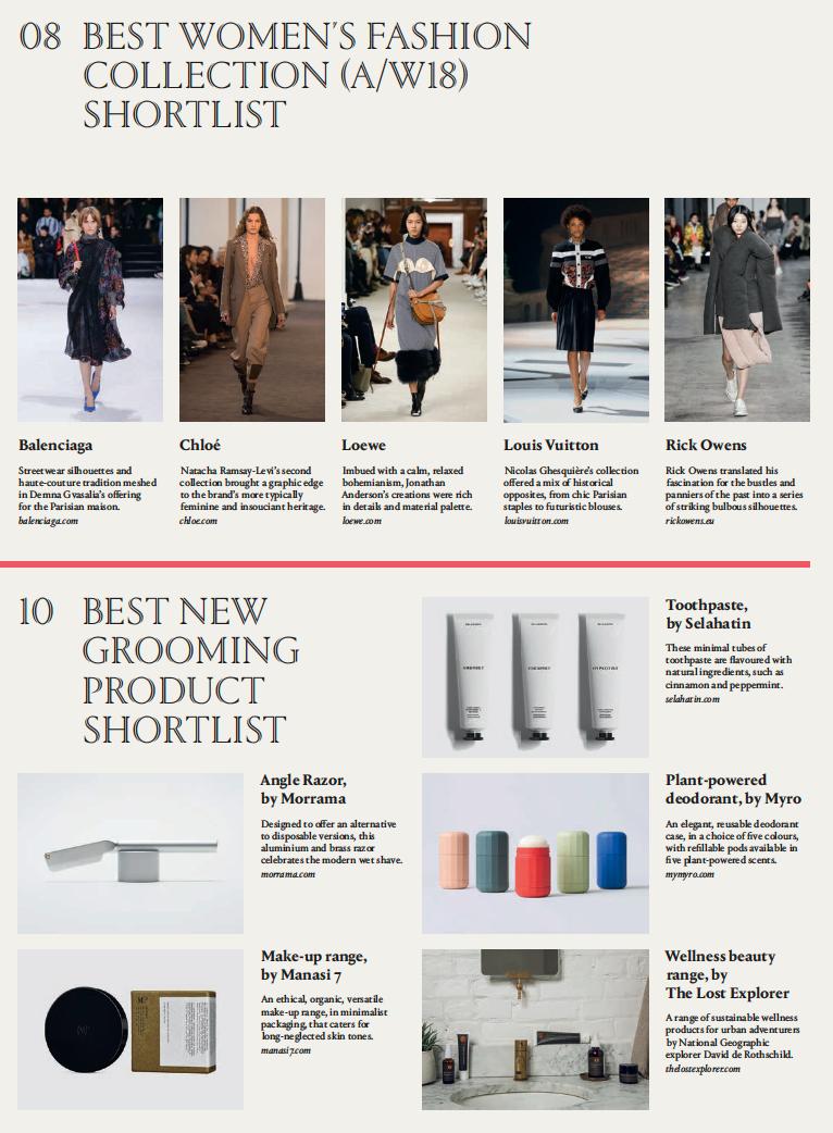 Morrama industrial design agency for startups short list for wallpaper* magazine