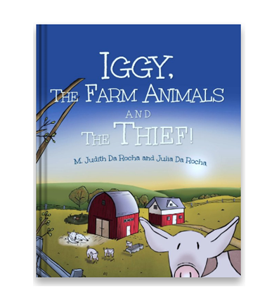 Iggy, The Farm Animals And The Thief!  The return of Iggy, a little pig who always seems to find himself in trouble. This tale is about Iggy finding the thief in his very own home. But, will he be able to find him? And if he does, what will he do then?