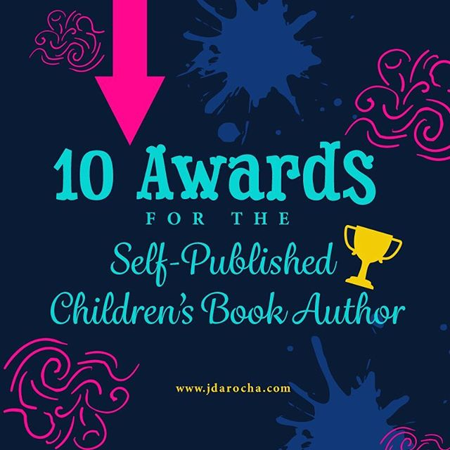 "New blog post is up. Click ""Blog"" under Bio or go to www.jdarocha.com/blog/ -------------------------------- #selfpublished #selfpublishedchildrensbook #childrenbook #childrenbooksauthor #bookawards #kidsbookstagram #kidsbooks #awards"