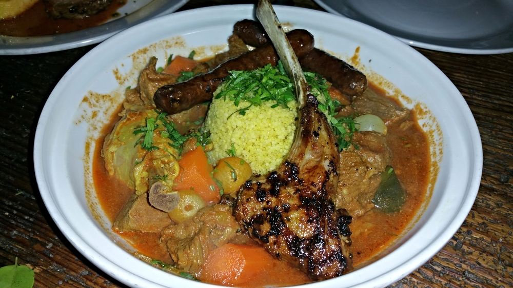 Couscous Royal w/lamb stew