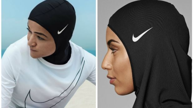 It took 13 months to design while in consultation with Muslim athletes and was made out of mesh fabric with tiny holes in it to ensure breathability