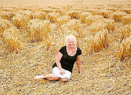 Megan Heazlewood - Queen of crop circles