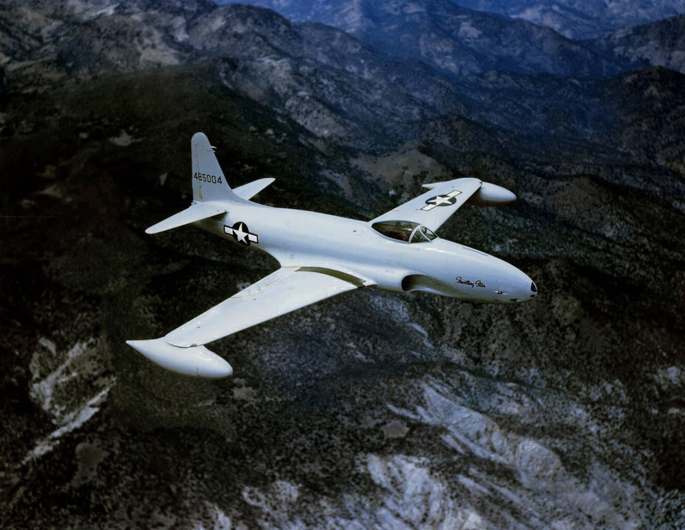 US Air Force P-80A Shooting Star