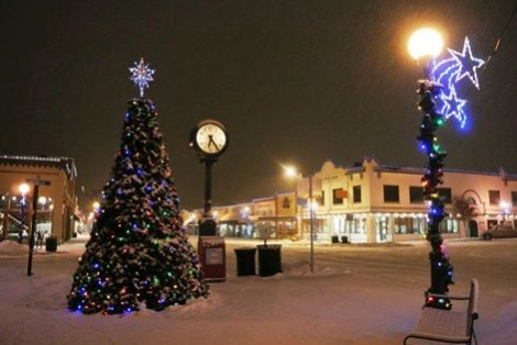 small town christmas lake chelan - Small Town Christmas