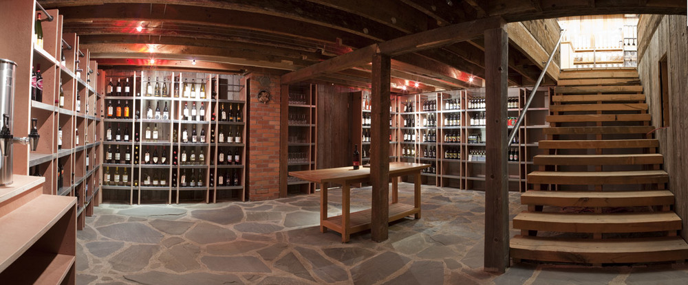 photo: Wine Cellar at  Grover Street Market
