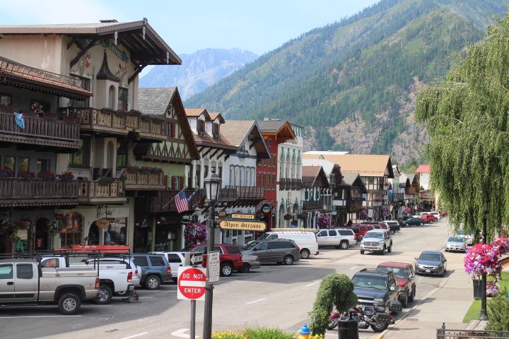 LEAVENWORTH - Charming Bavarian village nestled in the foothills.