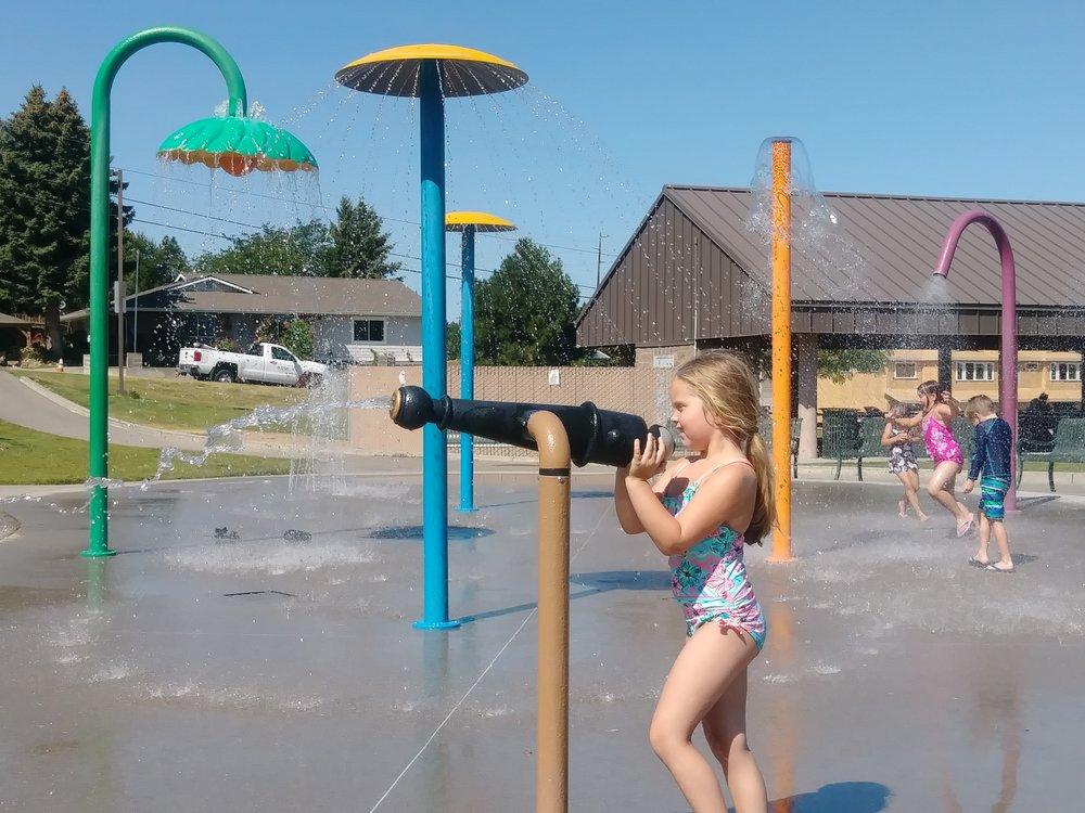 Rotary Park Splash Pad