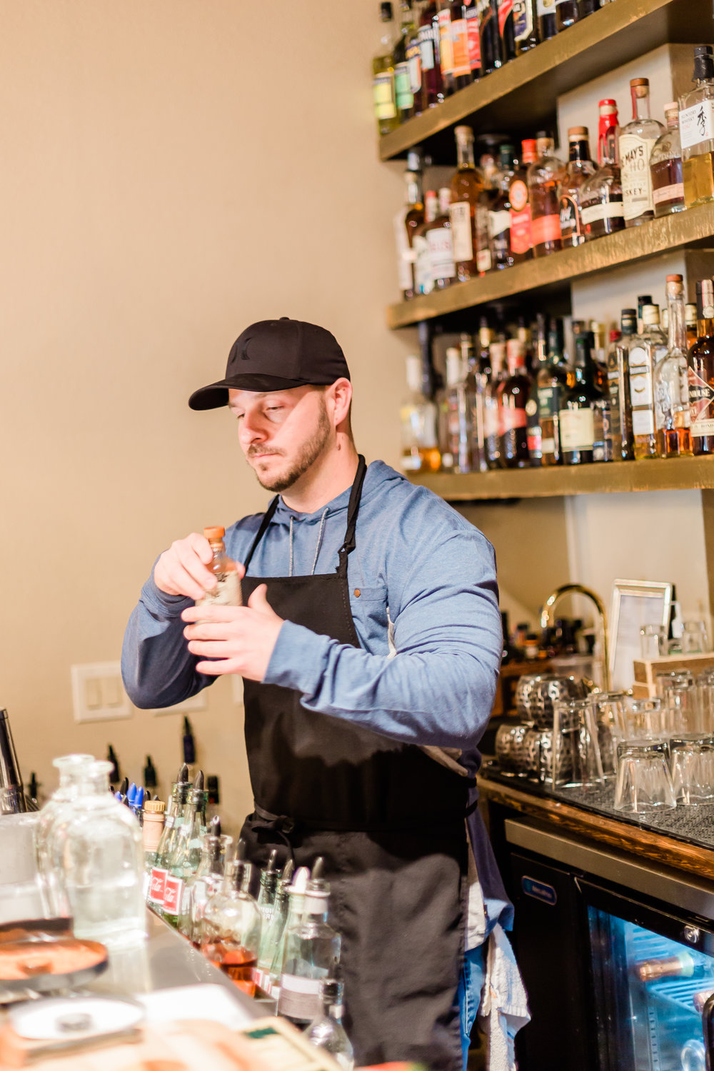 Sidecar Lounge owner, Spencer Lail -