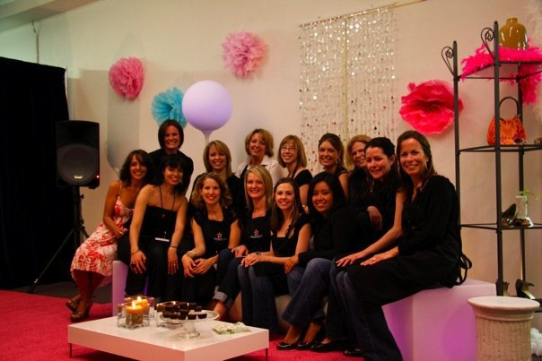 The first My Girlfriends Closet Committee 2009