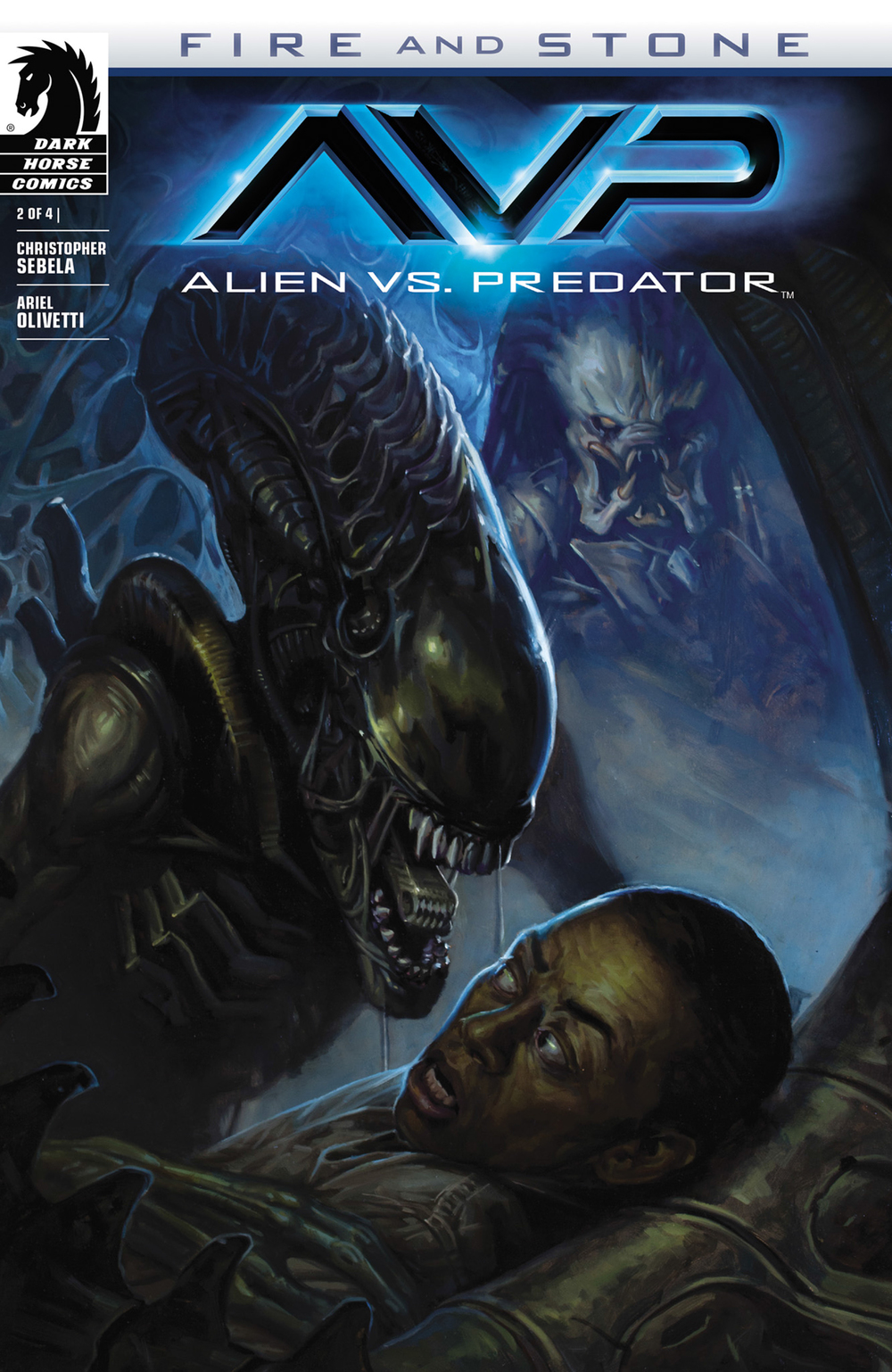 Alien Vs Predator: Fire and Stone #2