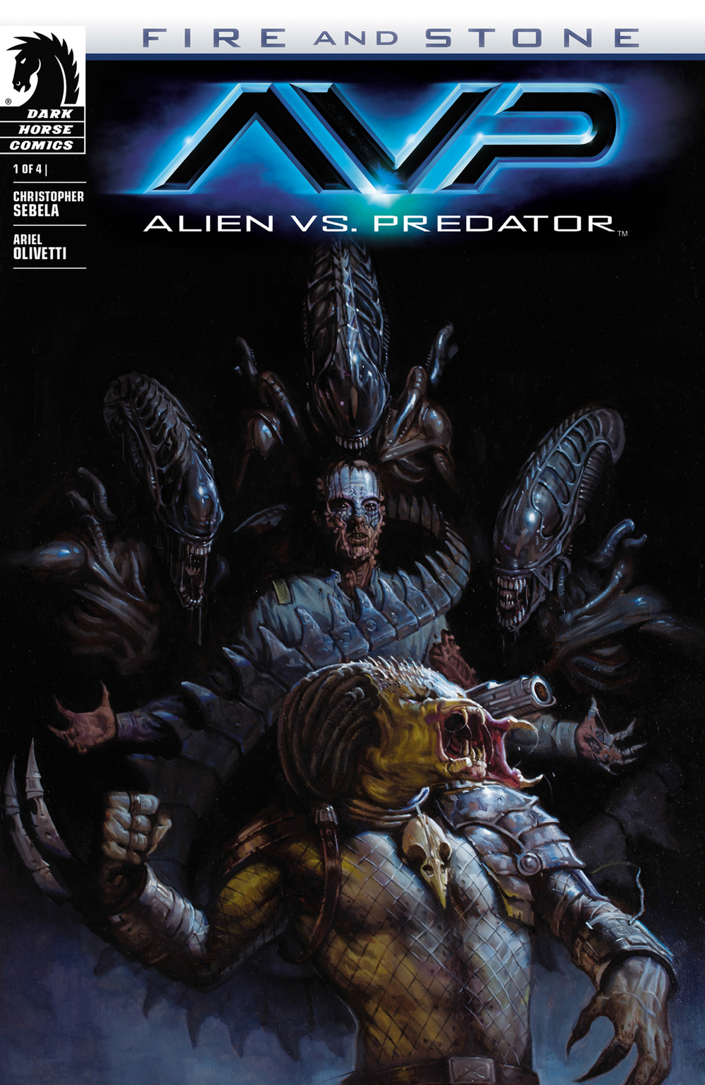 Alien Vs Predator: Fire and Stone #1