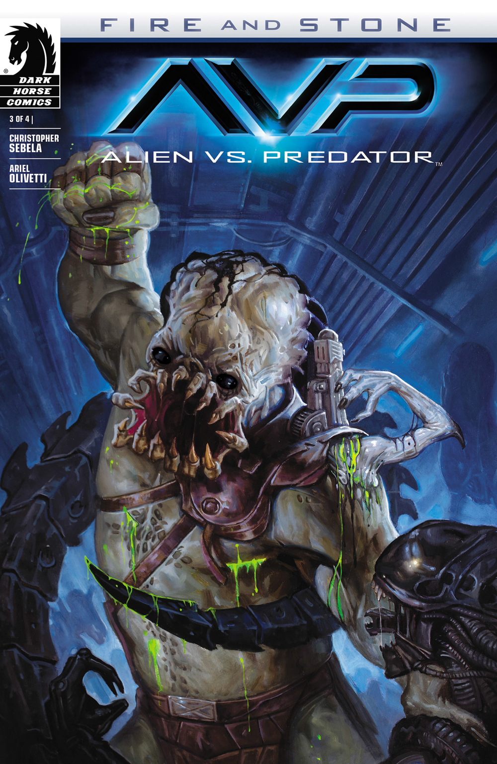 Alien Vs Predator: Fire and Stone #3