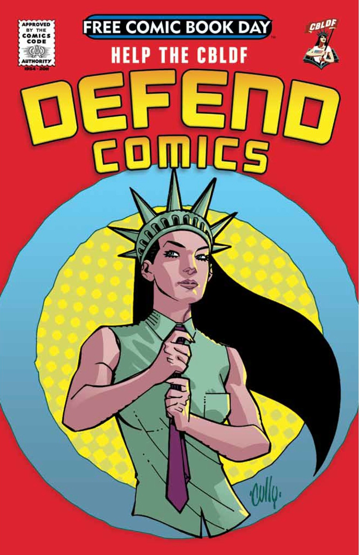 Help the CBLDF Defend Comics