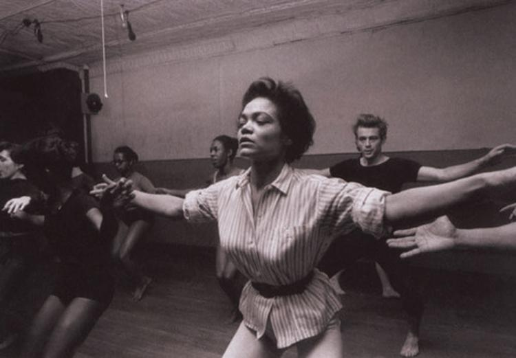 That time Eartha Kitt and James Dean took a dance class together.