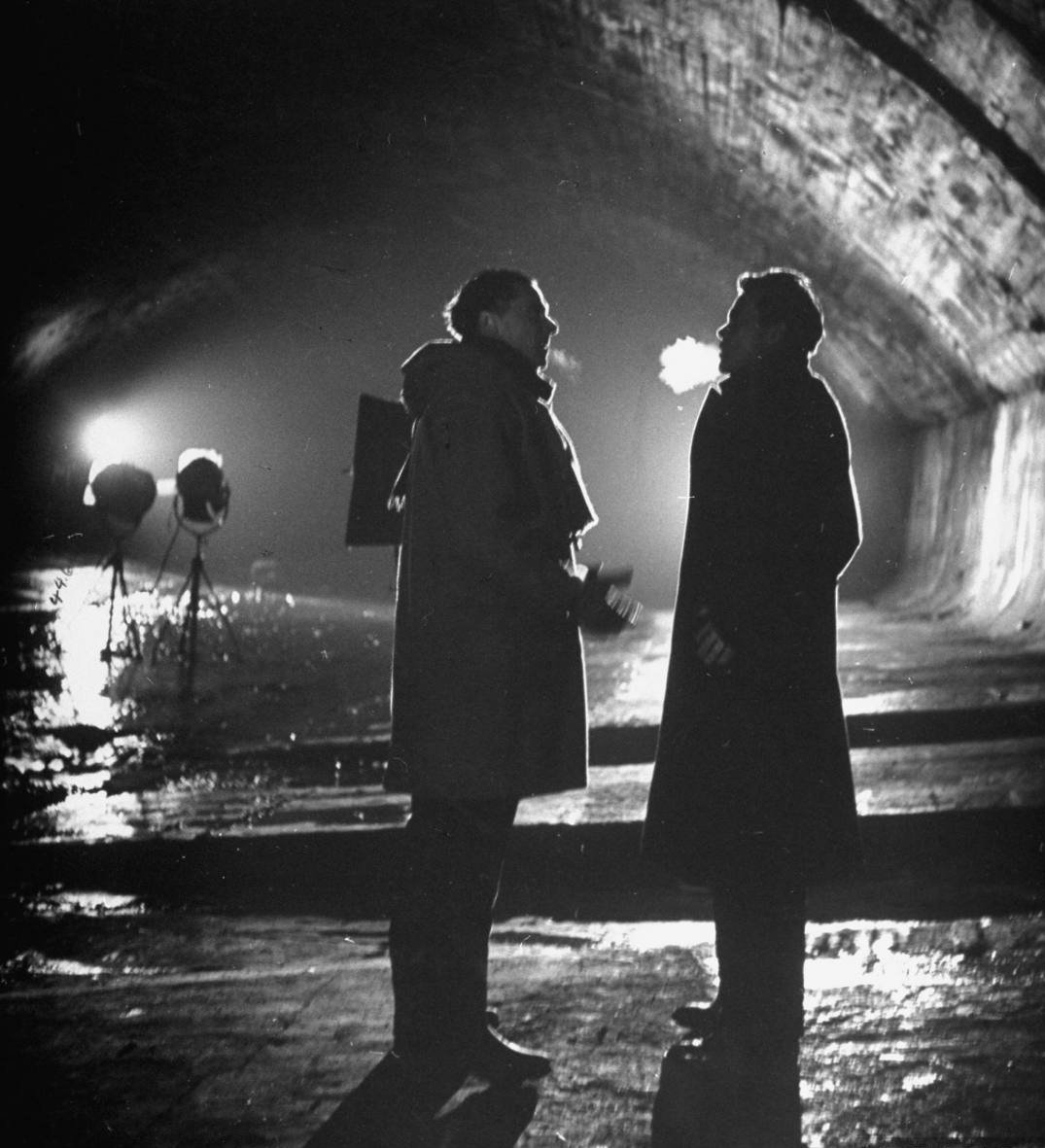 The Third Man production photo.