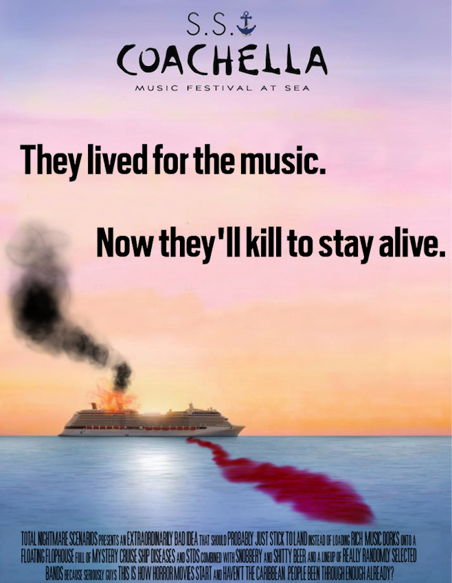 Speculative S.S. Coachella Fiction.