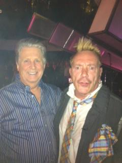 Brian Wilson and Johnny Rotten.