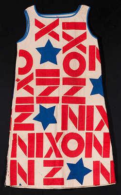 Nixon paper dress.