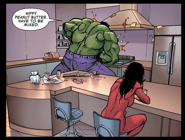 Hulk problems.
