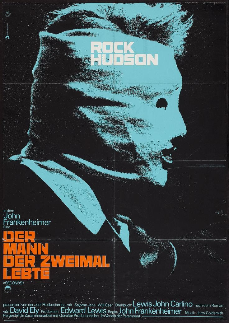 "lottereinigerforever :     ""Seconds"" german poster"