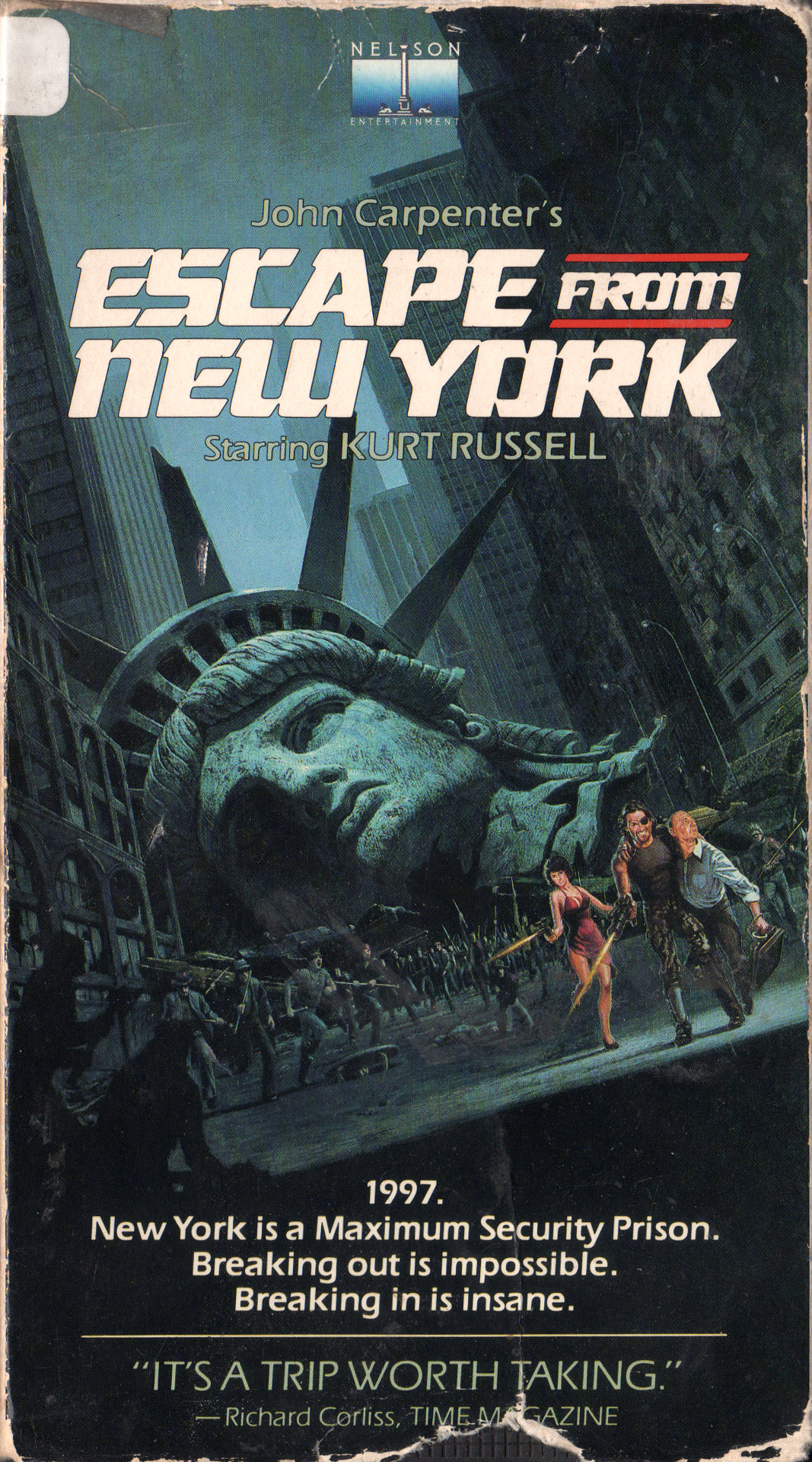 vhscoverjunkie :     Escape from New York (1981)