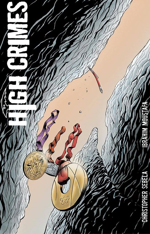 HIGH CRIMES #8 is coming.   (November 12th, to be precise)
